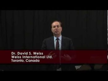 Dr. David Weiss Video Conference